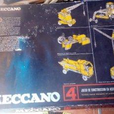 Juegos construcción - Meccano: MECCANO 4 DE EXIN. Lote 50128470