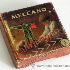 Juegos construcción - Meccano: ANTIGUA CAJITA MECCANO - VACÍA - CARTÓN - CAJA DE JUGUETE CONSTRUCCIÓN ¿ AÑOS 50 60 ESPAÑA ? VINTAGE. Lote 50753673