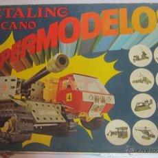 Juegos construcción - Meccano: MECCANO, METALING 15, POCH, EN CAJA. CC. Lote 51397034