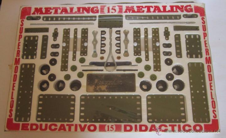 Juegos construcción - Meccano: MECCANO, METALING 15, POCH, EN CAJA. CC - Foto 2 - 51397034