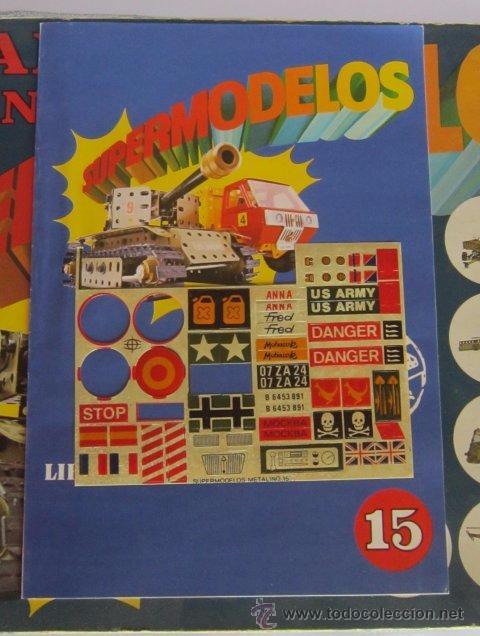 Juegos construcción - Meccano: MECCANO, METALING 15, POCH, EN CAJA. CC - Foto 3 - 51397034