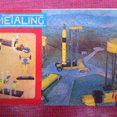 Juegos construcción - Meccano: MANUAL DE INSTRUCCIONES Nº 3 MECCANO DE METALING. POCH. 1970. COMPLETO 48PAG.. Lote 52145072