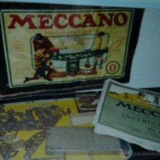 Juegos construcción - Meccano: CAJA MECCANO ANTIGUO N.0. Lote 52328344