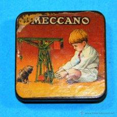 Juegos construcción - Meccano: ANTIGUA CAJITA MECCANO. Lote 52416185