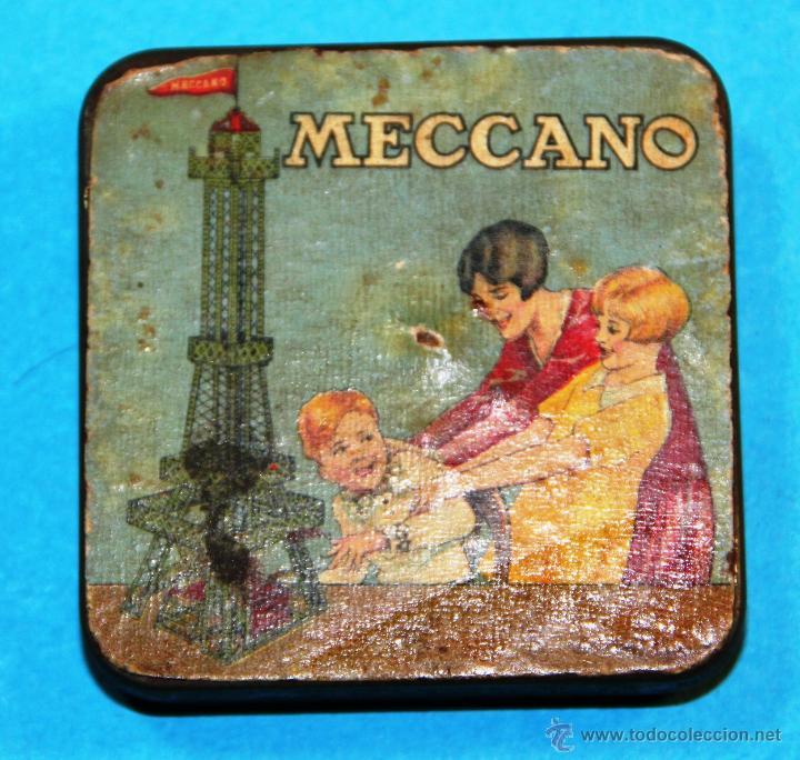 ANTIGUA CAJITA MECCANO (Juguetes - Construcción - Meccano)