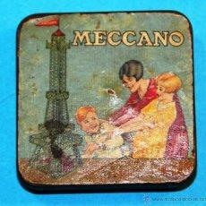 Juegos construcción - Meccano: ANTIGUA CAJITA MECCANO. Lote 52416321