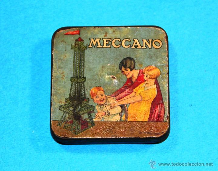 Juegos construcción - Meccano: ANTIGUA CAJITA MECCANO - Foto 3 - 52416321
