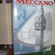 Juegos construcción - Meccano: MECCANO, CAJA PARA CONSTRUIR BIG BEN. EDICIÓN ESPECIAL. 1085 PIEZAS. NUEVO.. Lote 131071916
