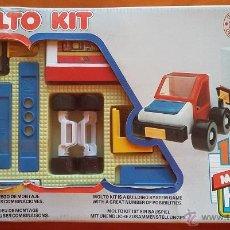 Juegos construcción - Meccano: MOLTO KIT 1. JUGUETE DE CONSTRUCCION AÑOS 80. Lote 52706729