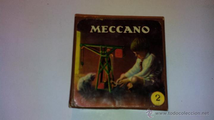 CAJA ORIGINAL EN CARTON DEL MECCANO.- AÑOS 50 (Juguetes - Construcción - Meccano)