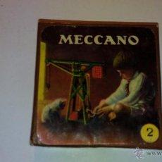 Juegos construcción - Meccano: CAJA ORIGINAL EN CARTON DEL MECCANO.- AÑOS 50. Lote 53343122