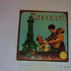 Juegos construcción - Meccano: CAJA ORIGINAL EN CARTON DEL MECCANO.- AÑOS 50. Lote 53343133