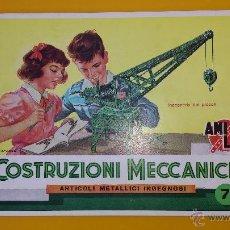 Juegos construcción - Meccano: CATALOGO MECCANO AMI LAC. Lote 53499428
