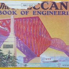 Juegos construcción - Meccano: THE MECCANO BOOK OF ENGINEERING DE 1928. Lote 53503741