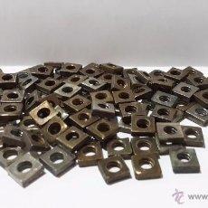 Juegos construcción - Meccano: 100 TUERCAS MECCANO MADE ENGLAND AÑOS 50. Lote 54351432