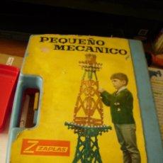 Juegos construcción - Meccano: **EL PEQUEÑO MECANICO DE ZAPLAS** LE FALTAN PIEZAS (AÑOS 60)** 30X 22 X 7 CM!!. Lote 56300841
