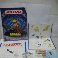 Juegos construcción - Meccano: MECCANO - LOTE DE CINCO CATÁLOGOS. Lote 57338336