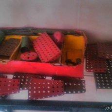 Juegos construcción - Meccano: LOTE DE MECANO DE LOS AÑOS 50. ORIGINAL.. Lote 58193820