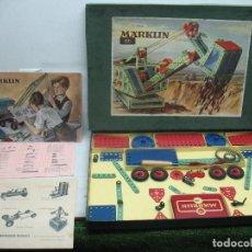 Juegos construcción - Meccano: MARKLIN MECCANO REF: 1011 - ANTIGUO MECCANO JUEGO DE CONSTRUCCIÓN. Lote 61901368
