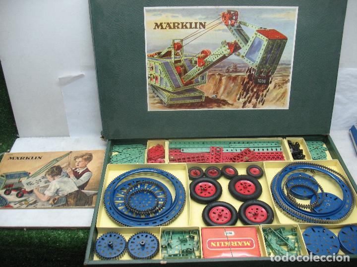 MARKLIN MECCANO REF: 1036 - ANTIGUO MECCANO JUEGO DE CONSTRUCCIÓN (Juguetes - Construcción - Meccano)