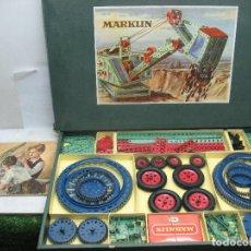 Juegos construcción - Meccano: MARKLIN MECCANO REF: 1036 - ANTIGUO MECCANO JUEGO DE CONSTRUCCIÓN. Lote 104672623