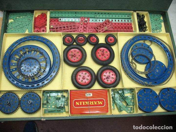 Juegos construcción - Meccano: Marklin Meccano Ref: 1036 - Antiguo meccano juego de construcción - Foto 2 - 104672623