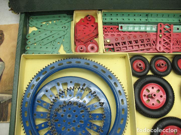 Juegos construcción - Meccano: Marklin Meccano Ref: 1036 - Antiguo meccano juego de construcción - Foto 3 - 104672623