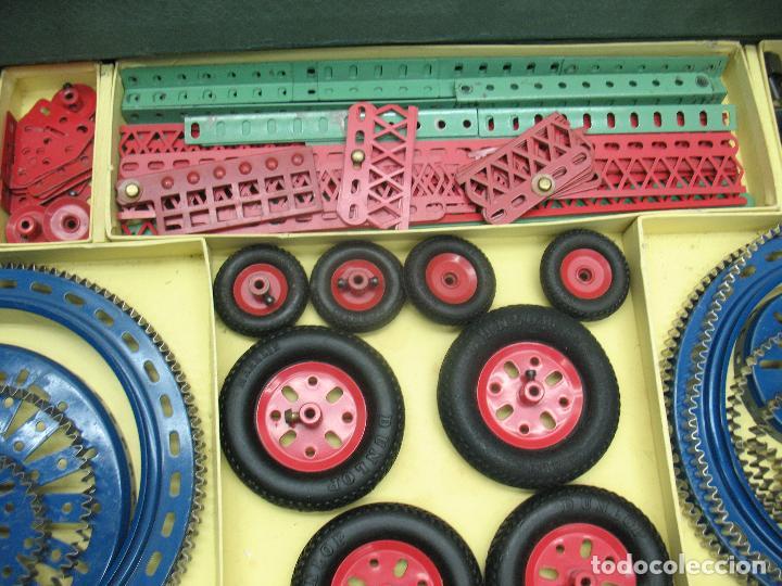 Juegos construcción - Meccano: Marklin Meccano Ref: 1036 - Antiguo meccano juego de construcción - Foto 4 - 104672623