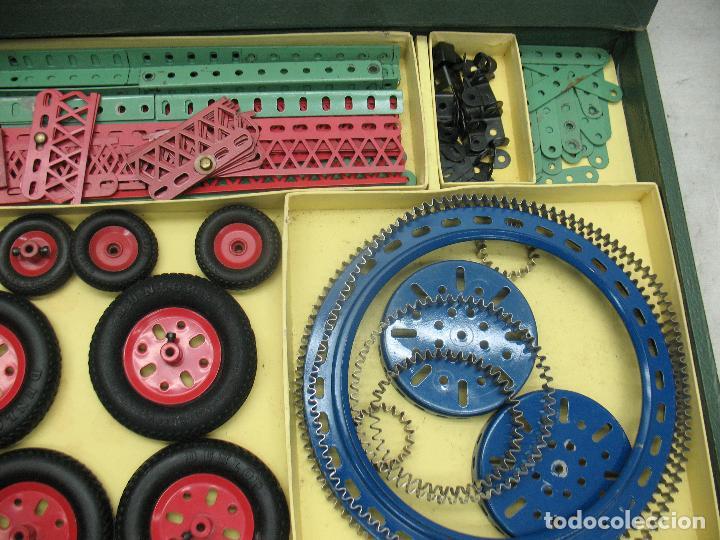 Juegos construcción - Meccano: Marklin Meccano Ref: 1036 - Antiguo meccano juego de construcción - Foto 5 - 104672623