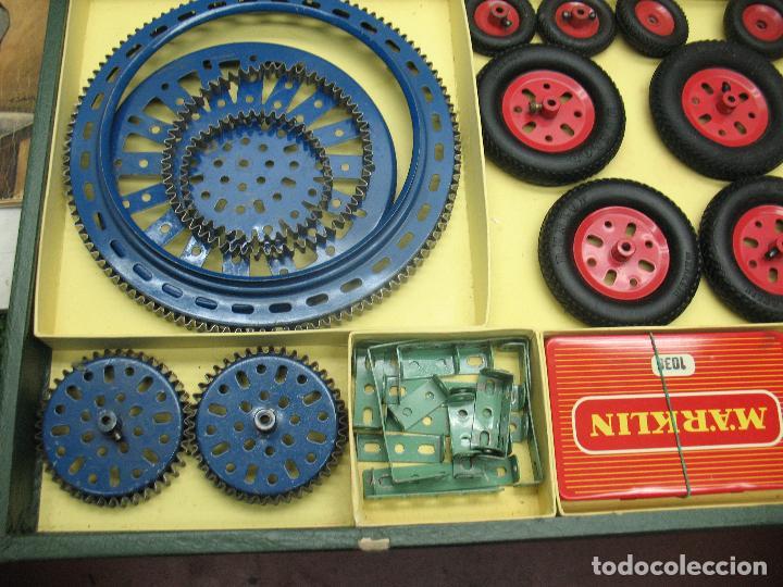 Juegos construcción - Meccano: Marklin Meccano Ref: 1036 - Antiguo meccano juego de construcción - Foto 6 - 104672623