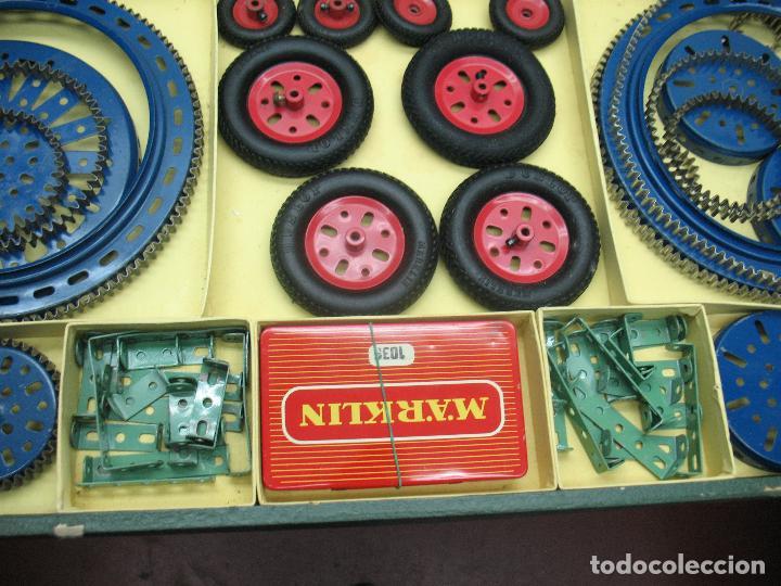 Juegos construcción - Meccano: Marklin Meccano Ref: 1036 - Antiguo meccano juego de construcción - Foto 7 - 104672623