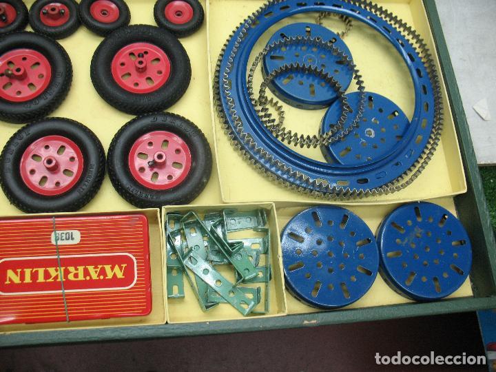 Juegos construcción - Meccano: Marklin Meccano Ref: 1036 - Antiguo meccano juego de construcción - Foto 8 - 104672623