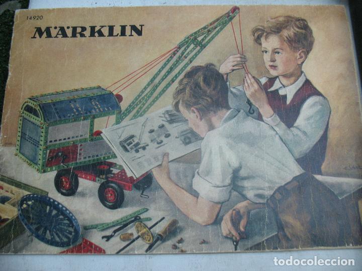 Juegos construcción - Meccano: Marklin Meccano Ref: 1036 - Antiguo meccano juego de construcción - Foto 10 - 104672623