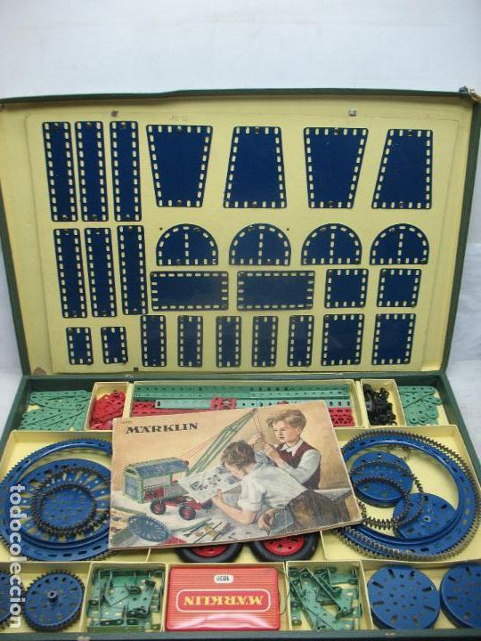 Juegos construcción - Meccano: Marklin Meccano Ref: 1036 - Antiguo meccano juego de construcción - Foto 11 - 104672623