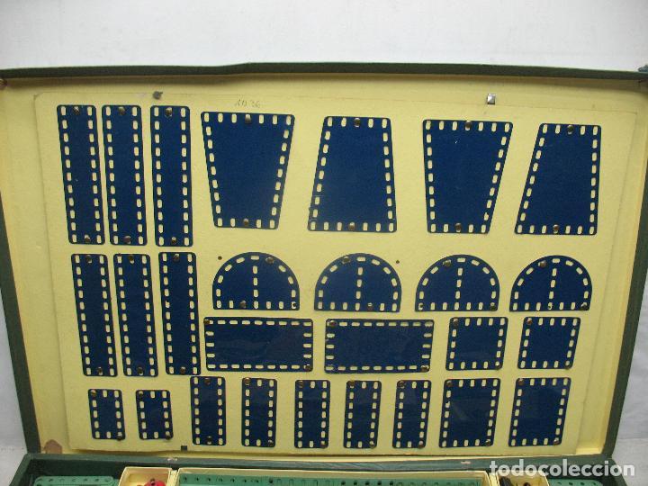 Juegos construcción - Meccano: Marklin Meccano Ref: 1036 - Antiguo meccano juego de construcción - Foto 12 - 104672623