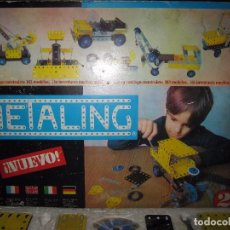 Juegos construcción - Meccano: METALING Nº2. CON CATÁLOGO. EL DE LAS FOTOS. Lote 64458855