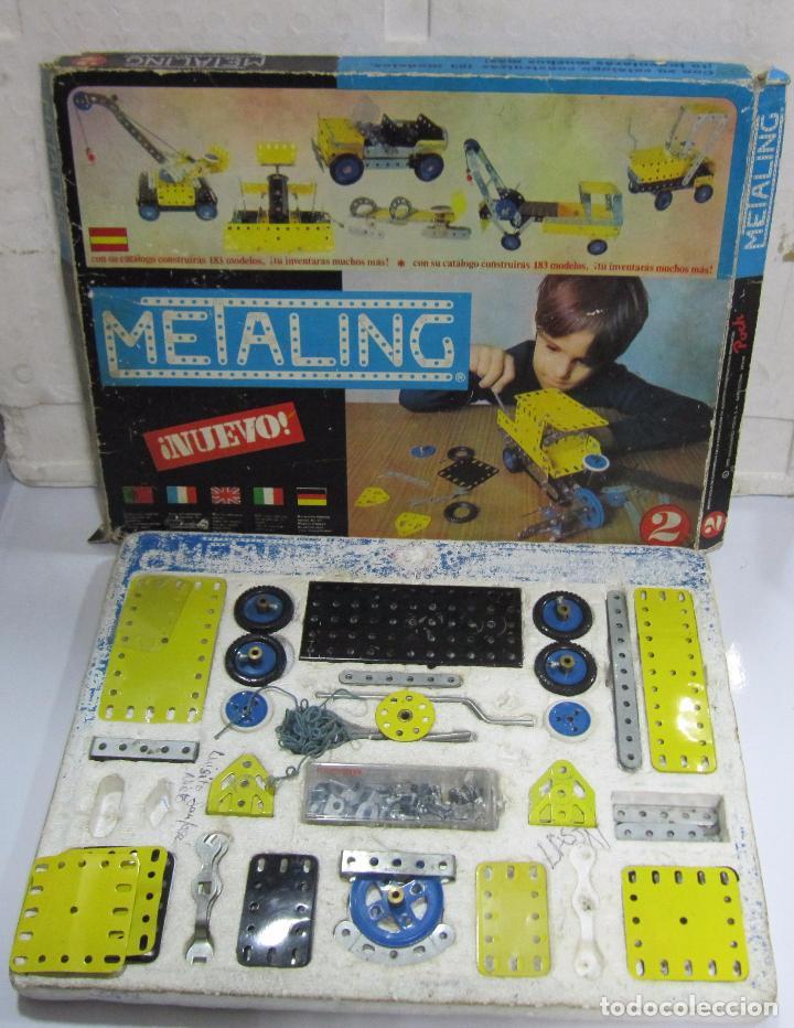 Juegos construcción - Meccano: METALING Nº2. CON CATÁLOGO. EL DE LAS FOTOS - Foto 4 - 64458855