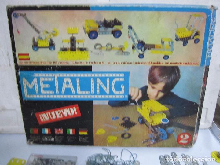 Juegos construcción - Meccano: METALING Nº2. CON CATÁLOGO. EL DE LAS FOTOS - Foto 5 - 64458855