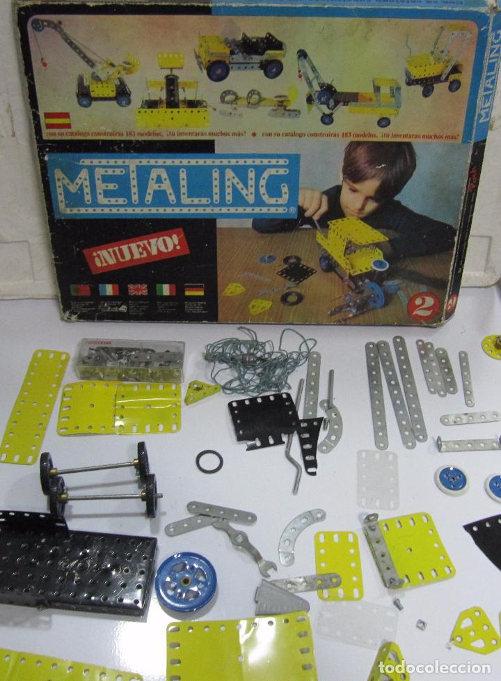 Juegos construcción - Meccano: METALING Nº2. CON CATÁLOGO. EL DE LAS FOTOS - Foto 9 - 64458855