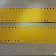 Juegos construcción - Meccano: 2 PLACAS MECCANO 5X25. Lote 68997147