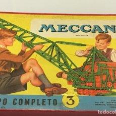 Juegos construcción - Meccano: MECCANO JUEGO Y AMPLIACIÓN AÑOS 50,S. Lote 67064570