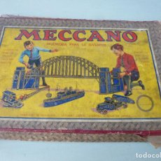 Juegos construcción - Meccano: JUEGO MECCANO, CON LIBRO DE INSTRUCCIONES Nº 0 Y 00. Lote 73026259
