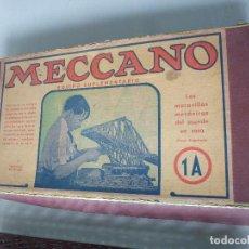 Juegos construcción - Meccano: CAJA CON JUEGO MECCANO 1 A. Lote 73028035