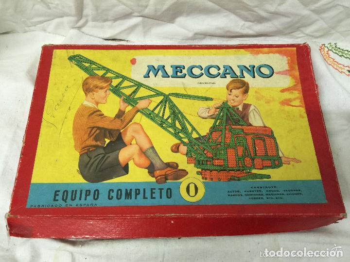 CAJA MECCANO EQUIPO COMPLETO Nº0. (Juguetes - Construcción - Meccano)
