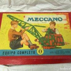 Juegos construcción - Meccano: CAJA MECCANO EQUIPO COMPLETO Nº0.. Lote 76036035