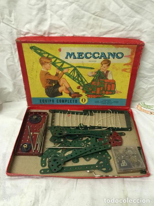 Juegos construcción - Meccano: CAJA MECCANO EQUIPO COMPLETO Nº0. - Foto 2 - 76036035