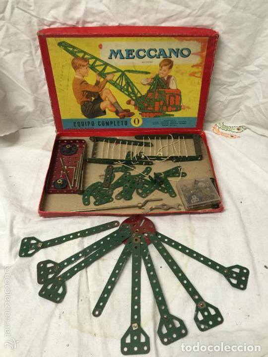 Juegos construcción - Meccano: CAJA MECCANO EQUIPO COMPLETO Nº0. - Foto 3 - 76036035