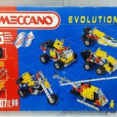 Juegos construcción - Meccano: MECCANO EVOLUTION 2. NUEVO EN CAJA. SIN ABRIR. COMPLETO. 1995.. Lote 76049154