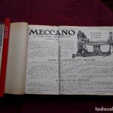 Juegos construcción - Meccano: MECCANO MANUALES INSTRUCCIONES Nº 00 AL 7, MECANISMOS DE NORMA MECCANO, Y FOLLETO. Lote 76678943