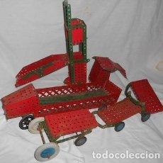 Juegos construcción - Meccano: LOTE DE PIEZAS MECCANO. Lote 76799527